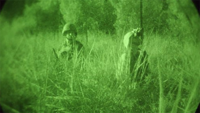 Night vision goggles use green phosphor because the human eye can see more shades of green than any other color