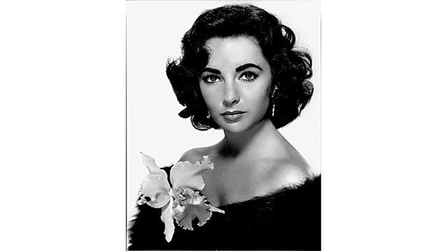 Elizabeth Taylor's dark eyes were due to a genetic mutation that gave her double lashes