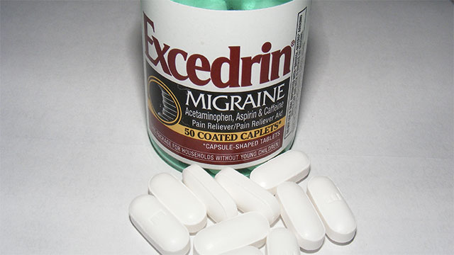 Excedrin Migraine, Excedrin Extra Strength, and Excedrin Menstrual Complete are the same drug. They just have different colored labels.