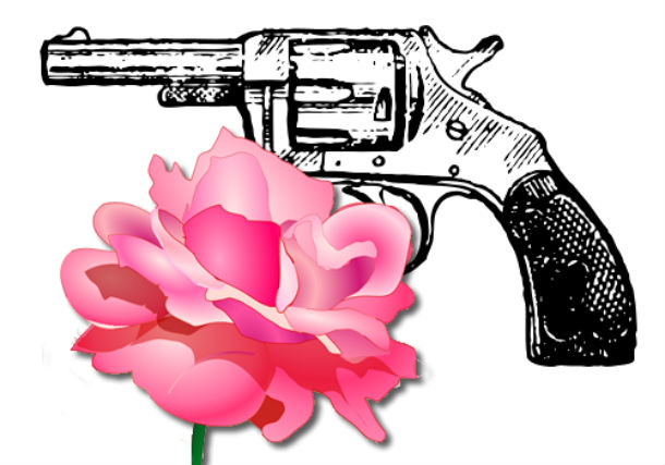 rose and revolver