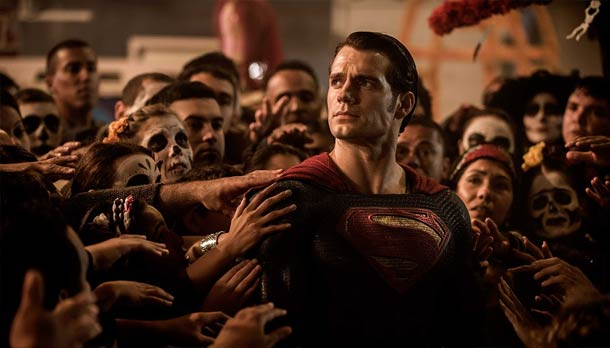 Superman adore by his fans