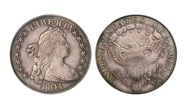 """Reproduction tribute coins are completely worthless. They are """"clad"""" in about 50 cents of gold."""