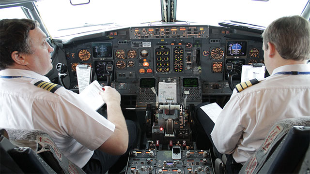 Pilots like to use iPads as a replacement to traditional pen and paper