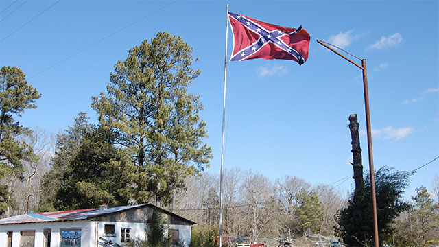 More than one of your living relatives are named after Confederate generals