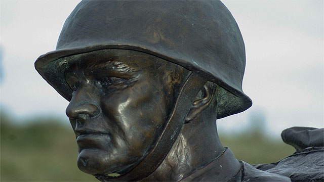 Helmets on the battlefield led to an increase in the number of injured soldiers