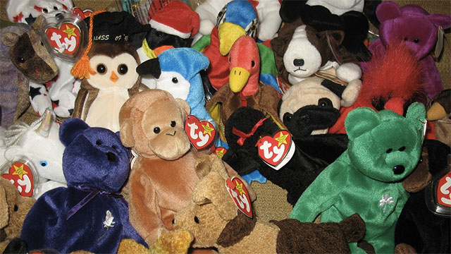 Beanie Babies were a good investment and they would make you rich