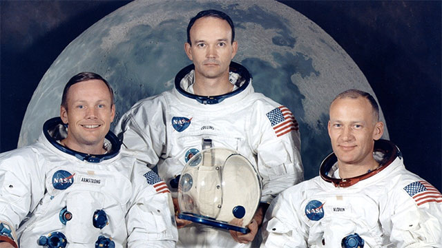 """Neil Armstrong's abbreviated name is """"Neil A"""". Backwards it is """"A lieN""""."""