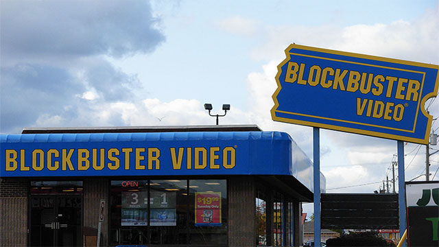 One day you would take your kids to Blockbuster
