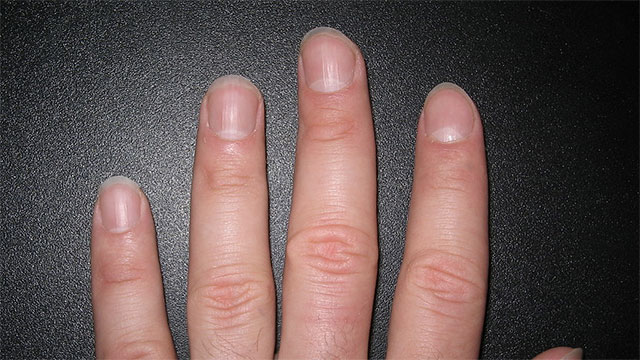 Clean your finger nails. It's one of the first things people notice.