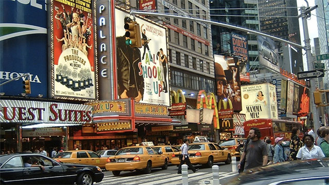 Going to Times Square for New Year
