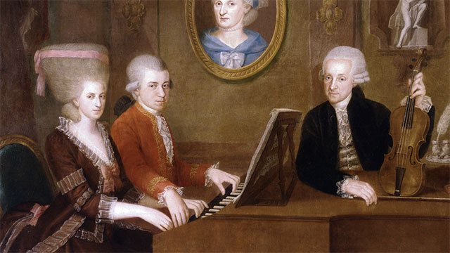 Mozart was 20 years old when the Declaration of Independence was signed