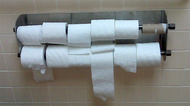 The ability to make toilet paper magically appear out of thin air