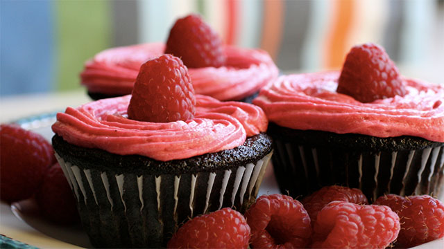 A cupcake is a cake...that is cup sized.