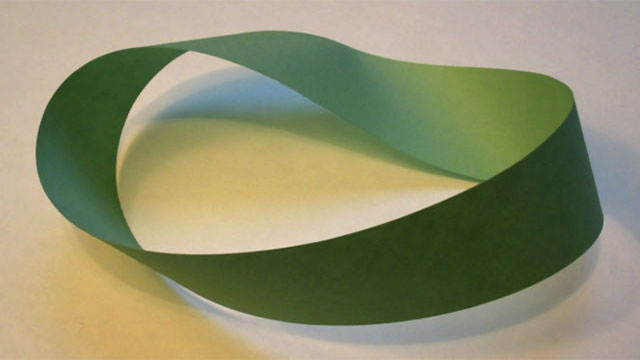 Why did the chicken cross the möbius strip?