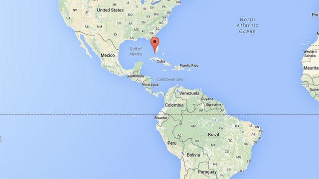 Key West is farther west than all of mainland South America