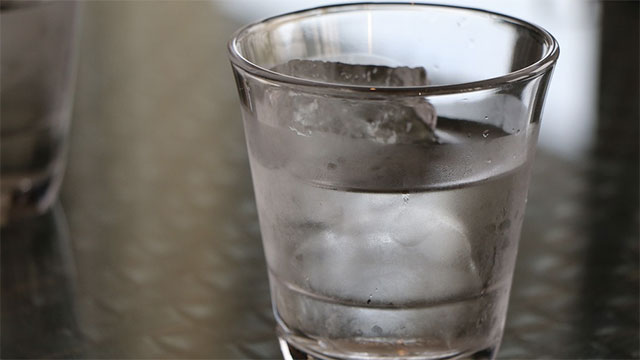 Water at fast food restaurants
