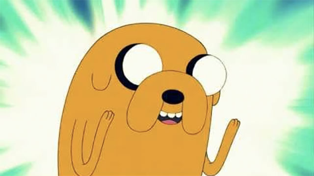 """""""Sucking at something is the first step to being kinda good at something."""" - Jake the dog, Adventure Time"""
