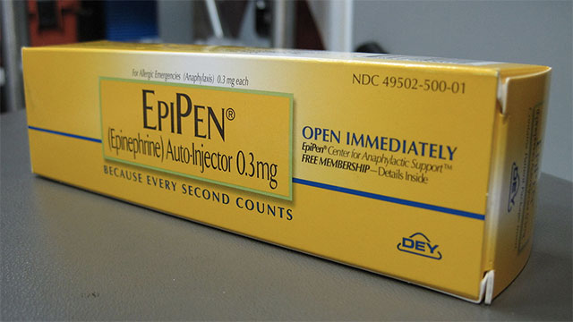 I have an EpiPen. My friend gave me it to me as he was dying. It seemed very important that I have it.