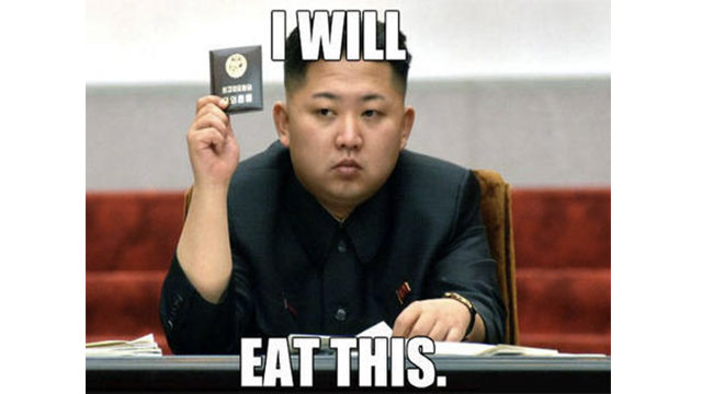 I asked my friend how it is living in North Korea. He says he can't complain.