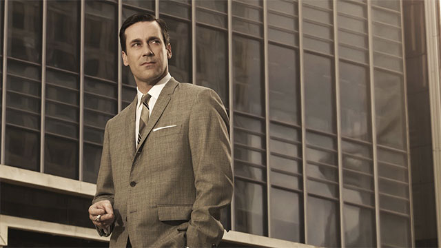 """""""We're flawed because we want so much more. We're ruined, because we get these things, and wish for what we had."""" - Don Draper, Mad Men"""
