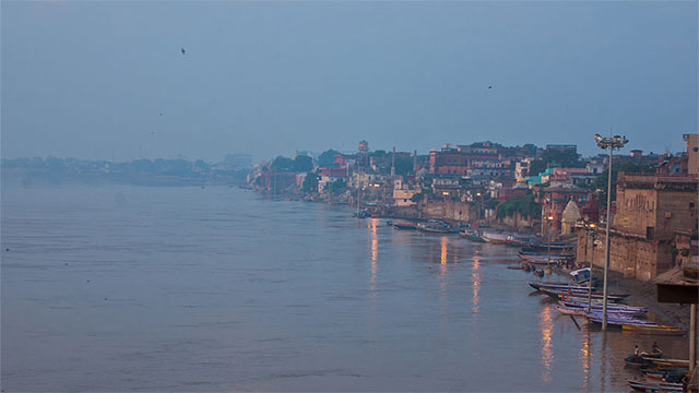 The Ganges River, India