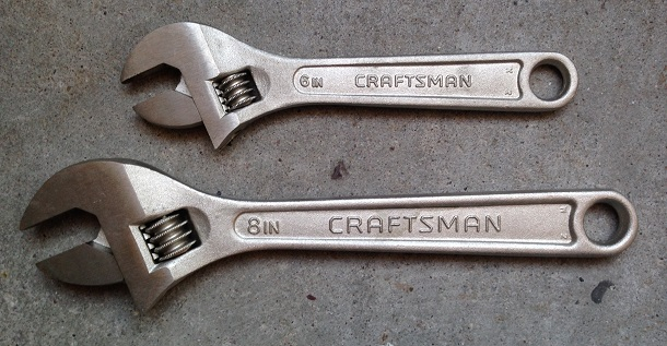 Western_Forge_Craftsman_adjustable_wrenches