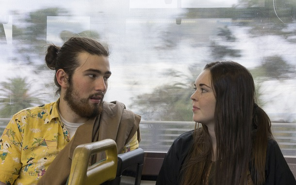 eye contact on the bus