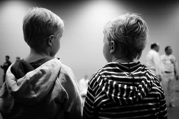 two young boys as friends