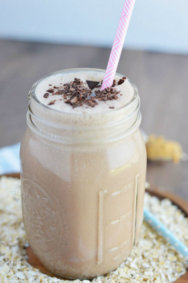 Chocolate-Peanut-Butter-Oatmeal-Smoothie
