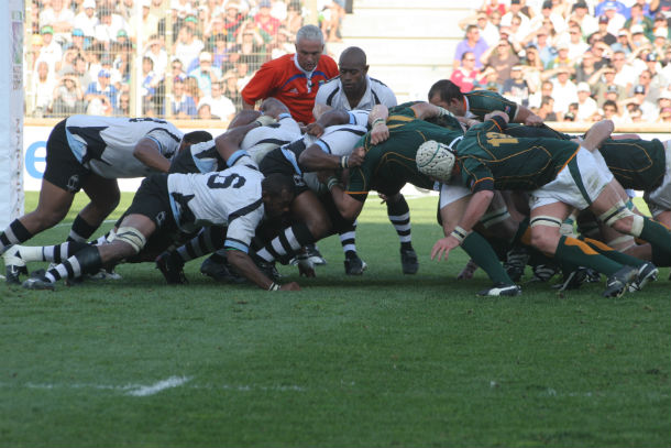 Fiji National rugby union team vs south africa 2007