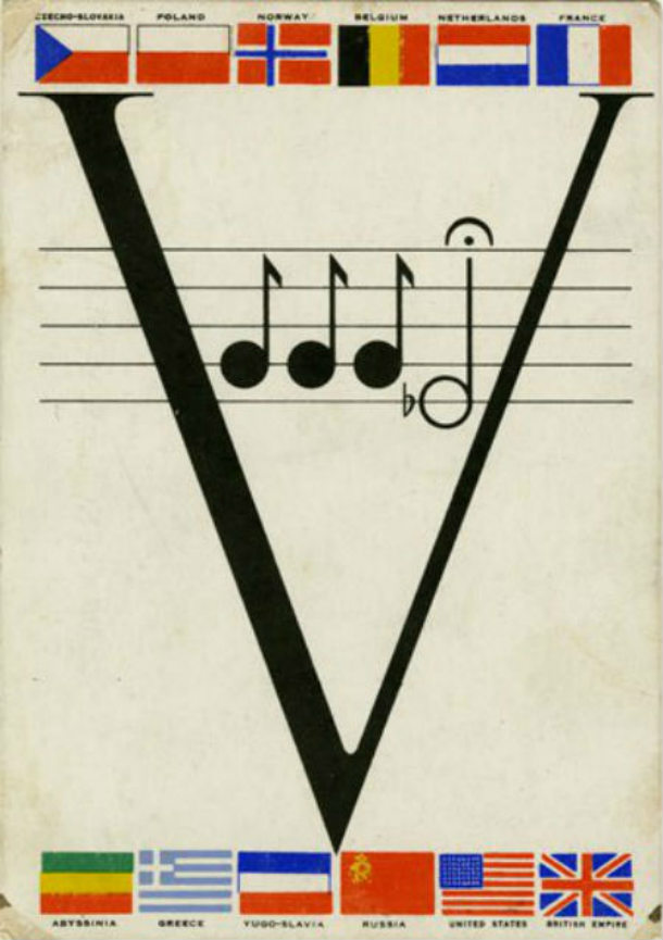V for Victory Beethoven 5th