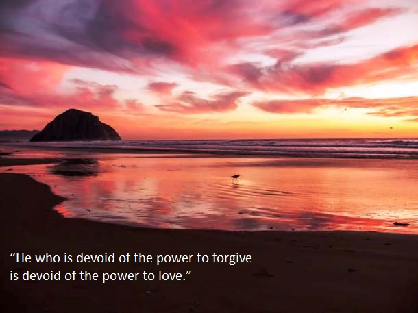power to forgive