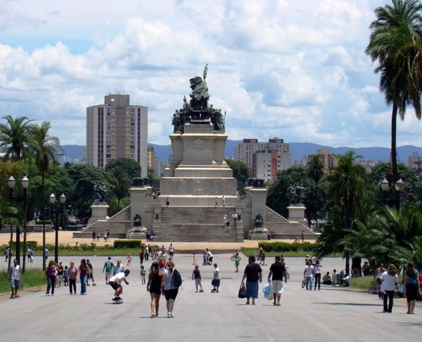 Monument to the Independence of Brazil, Sao Paulo, Brazil