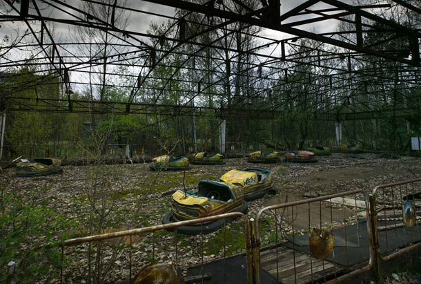 abandoned Chernobyl Attraction
