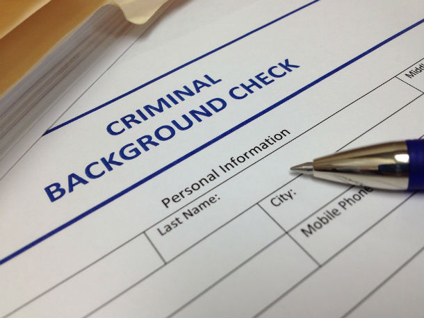 17. Background check