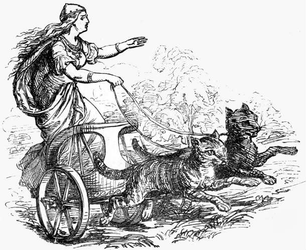 Freyja_riding_with_her_cats_(1874)
