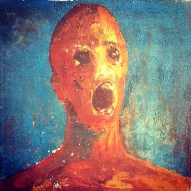 The Anguished Man Painting
