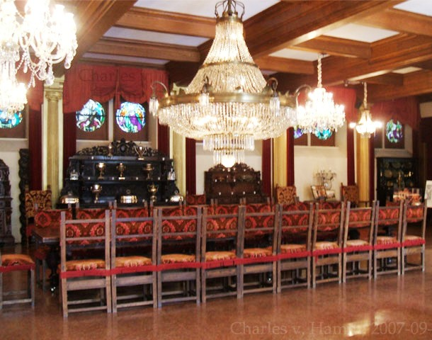 Haunted Belcourt Castle Chairs