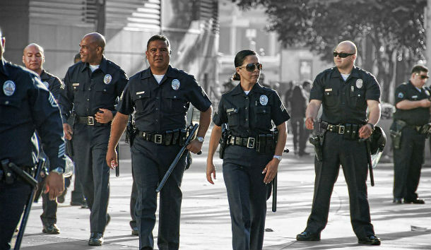 LAPD_Staples_Center_Officers