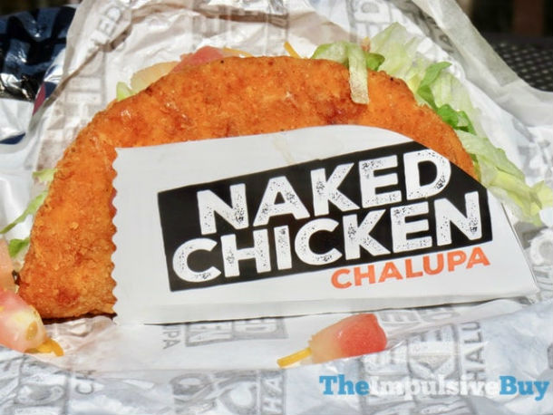 Naked Chicken Chalupa from Taco Bell