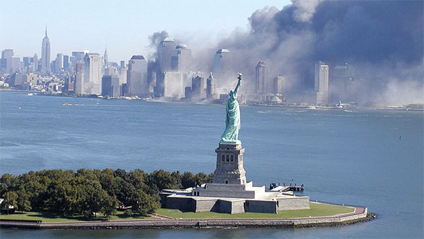 Statue of Liberty on 9-11