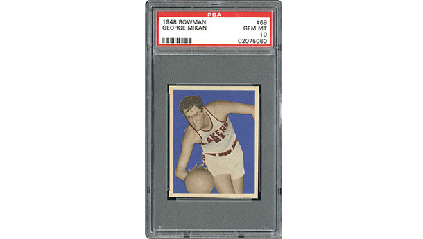 George Mikan RC