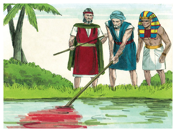 nile to blood