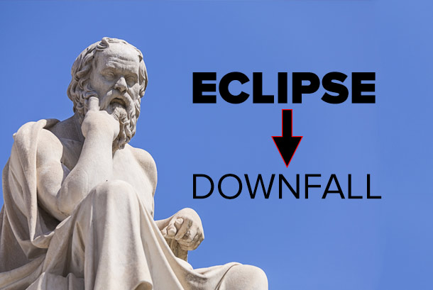 Eclipse meaning in Greek
