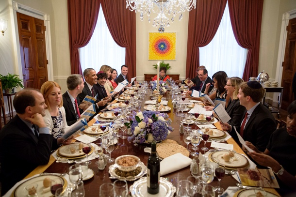 dining in White House