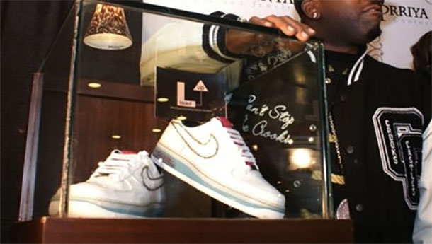 Nike Air Force One By Prryya & Chintan's Couture and Jewelry