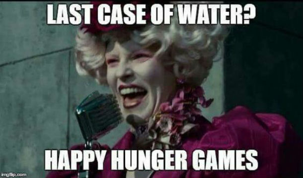 hunger games water