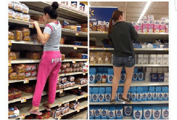 short people grocery