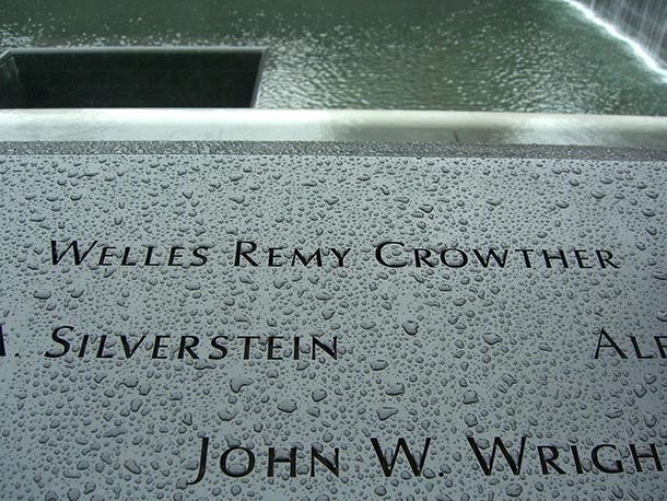 welles crowther