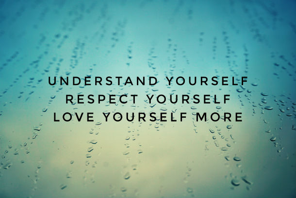 understand yourself quote